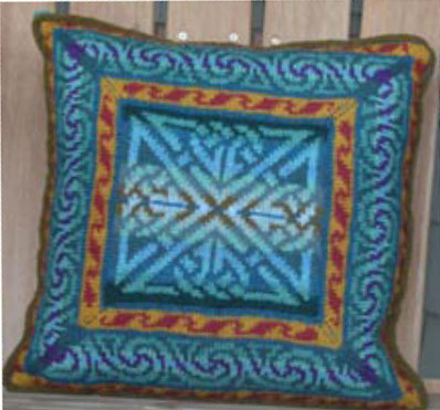 Free pattern: Scottie dog appliqued throw pillow · Sewing