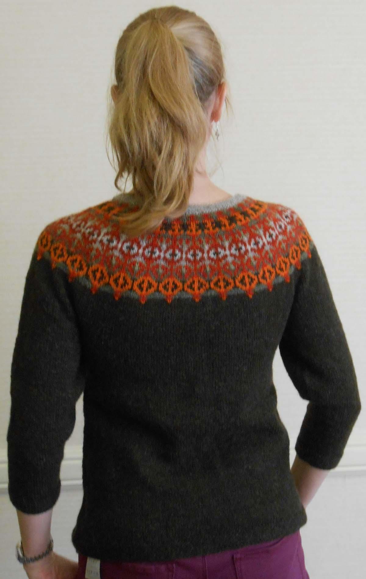 Helsinki Sweater Pattern Feral Knitter